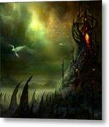 Utherworlds Where Fears Roam Metal Print by Philip Straub