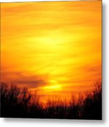 Valley Of The Sun Metal Print by Frozen in Time Fine Art Photography