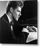 Van Cliburn, 1954 Metal Print by Everett