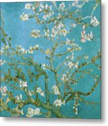 Van Gogh Blossoming Almond Tree Metal Print by Vincent Van Gogh