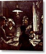 Van Gogh: Meal, 1885 Metal Print by Granger