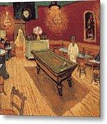 Van Gogh Night Cafe 1888 Metal Print by Granger