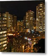 Vancouver Skyline Metal Print by Nancy Harrison