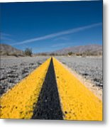 Vanishing Point Metal Print by Peter Tellone