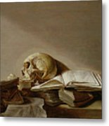 Vanitas Metal Print by Jan Davidsz de Heem