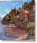 Varenna On Lake Como Metal Print by Guido Borelli