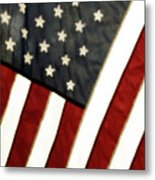 Variations On Old Glory No.4 Metal Print by John Pagliuca