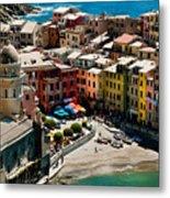 Venazza Cinque Terre Italy Metal Print by Xavier Cardell