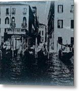 Venice Metal Print by Naxart Studio