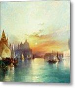 Venice Metal Print by Thomas Moran