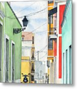 Viejo San Juan Metal Print by Tom Dorsz