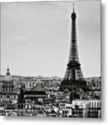 View Of City Metal Print by Sbk_20d Pictures