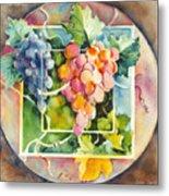 Vineyard Metal Print by Joan  Jones