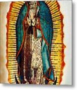 Virgen De Guadalupe Metal Print by Bibi Romer