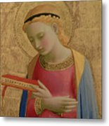 Virgin Annunciate Metal Print by Fra Angelico