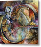'visions Of Eight' Metal Print by Michael Lang