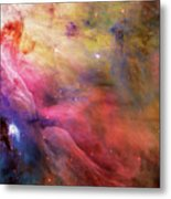 Warmth - Orion Nebula Metal Print by The  Vault - Jennifer Rondinelli Reilly