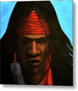 Warrior Metal Print by Lance Headlee
