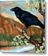 Watching The Sunset Metal Print by Linda Marcille