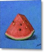 Watermelon Metal Print by Nancy Otey