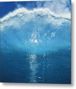 Wave Tube Metal Print by Ali ONeal - Printscapes