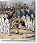 West Point Cartoon, 1880 Metal Print by Granger