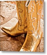 Western Wear Metal Print by Jill Smith