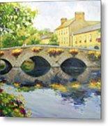 Westport Bridge County Mayo Metal Print by Conor McGuire
