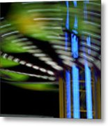 What Goes Around Metal Print by Barbara  White
