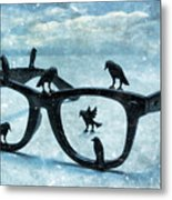 What The Crows Found Metal Print by Jeff  Gettis