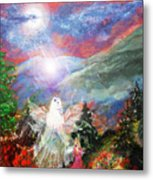 When I Was Nine Metal Print by Patricia Motley