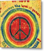 When The Power Of Love Metal Print by Debbie DeWitt