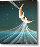 When The Wind Blows Metal Print by Cindy Thornton