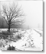 When Winter Comes Metal Print by Cathy  Beharriell