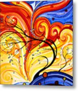 Whirlwind By Madart Metal Print by Megan Duncanson