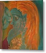 Whispers Metal Print by Wendy Hassel