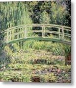 White Nenuphars Metal Print by Claude Monet