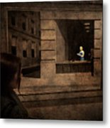 Why Is She Looking At Me Metal Print by Loriental Photography