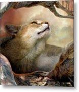 Wildcat Sunrise Metal Print by Carol Cavalaris