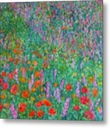 Wildflower Current Metal Print by Kendall Kessler