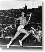 Wilma Rudolph (1940-1994) Metal Print by Granger