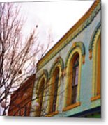 Windows Of Color Metal Print by Jan Amiss Photography