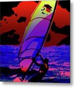 Windsurfer Metal Print by Brian Roscorla