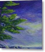 Windy Lake Superior Metal Print by Joanne Smoley
