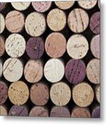 Wine Corks  Metal Print by Jane Rix