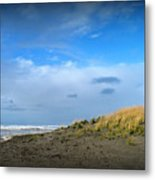 Winter Beach Metal Print by Mg Blackstock