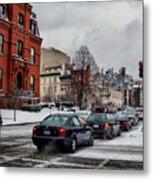 Winter In D.c. Metal Print by Jimmy Ostgard