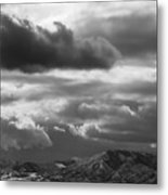 Winter Sky Metal Print by Rona Black