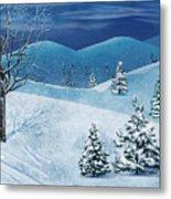 Winter Solstice Metal Print by Bedros Awak