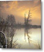 Winter Sunrise Metal Print by Graham Clark